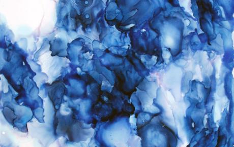 Blue Artwork