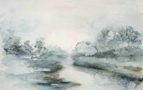 River Watercolor